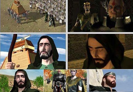 Film Cartooni Hazrat Davud (3 Ghesmat)